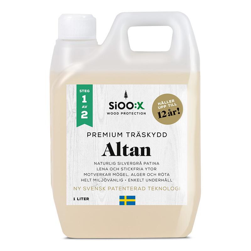 TRÄSKYDD SIOO:X PREMIUM ALTAN 1L - Trallvård - Färg Utomhus - Färg ...