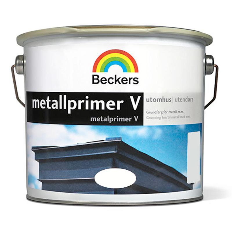 METALLPRIMER V BECKERS GRÅ 10 L - Metallfärg - Färg Utomhus - Färg ... ead1144365888