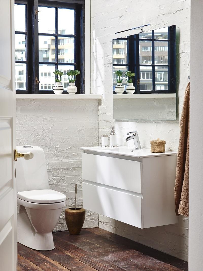 Badrumsmöbel Camargue Skärgård 60 cm grund heltäckande tvättställ ... : camargue badrum : Badrum