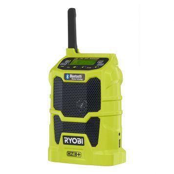 RADIO BLUETOOTH + AUX RYOBI 18V ONE+ UTAN BATTERI
