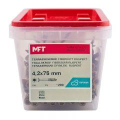 TRALLSKRUV MFT 4,2X75MM 200ST/FP