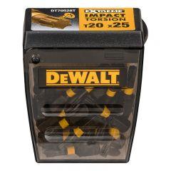 BITS DEWALT DT70528T-QZ IMPACT TORSION T20 25-PACK