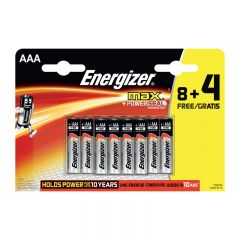 BATTERIER ENERGIZER MAX AAA