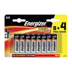 BATTERIER ENERGIZER MAX AA