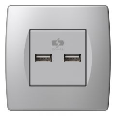 USB UTTAG TEM 5V 1A 2M SVART