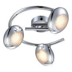 TAKLAMPA GLOBO SPOTLIGHT LED Ø250MM KROM