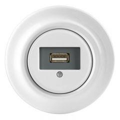 USB-UTTAG ABB DECENTO VIT