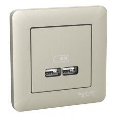 USB UTTAG SCHNEIDER ELECTRIC WDE008362 EXXACT 2,1A BP VIT