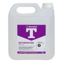 T-BATTERIVATTEN KEMETYL 4L