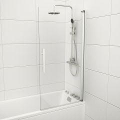 badkar med duschvägg paket