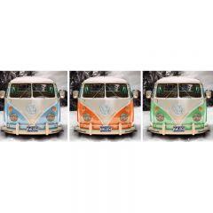 TAVLA VW CALIFORNIAN CAMPER 30X90CM
