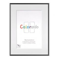 RAM COLORADO 62X93 SVART