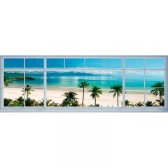TAVLA BEACH WINDOW VIEW 40X118CM
