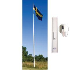 FLAGGSTÅNG ADELA APS MED INVÄNDIG LINFÖRING 9 M
