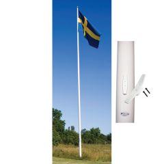 FLAGGSTÅNG ADELA ORIGINAL MED UTVÄNDIG LINFÖRING 4 M