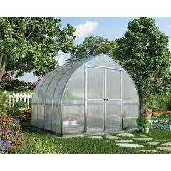 växthus klar polykarbonat