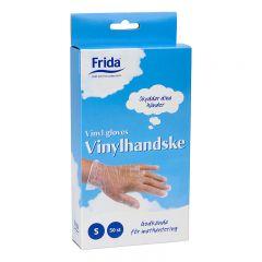 HUSHÅLLSHANDSKE FRIDA VINYL S 50-P