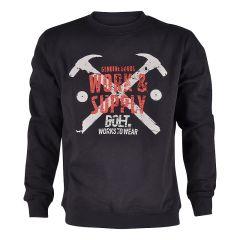 Sweatshirt Bolt Brad Marinblå Storlek S-XXL