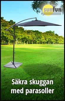 Säkra skuggan med parasoller