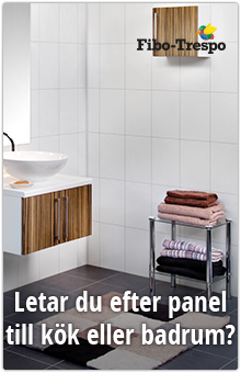 Letar du efter panel till kök eller badrum? Se hit!
