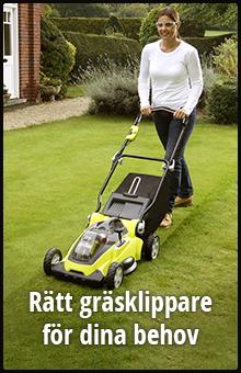 Rätt gräsklippare för dina behov