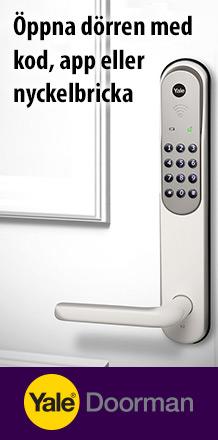 Dörrlås med nyckel eller kod?