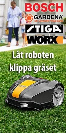 Låt robotgräsklipparen klippa gräset