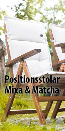 Positionsstolar Mixa & Matcha