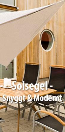 Solsegel - Snyggt & Modernt