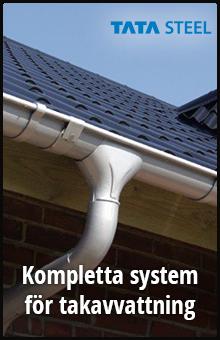 Kompletta system för takavvattning från Tata steel